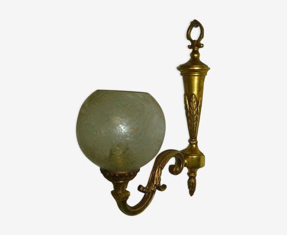 Applique en bronze doré