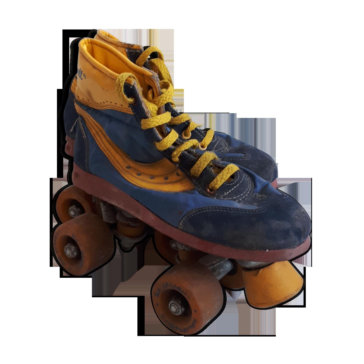 Meubles Autocollant Vintage Image Transfer Roller Skate restaurer Shabby Chic Antique