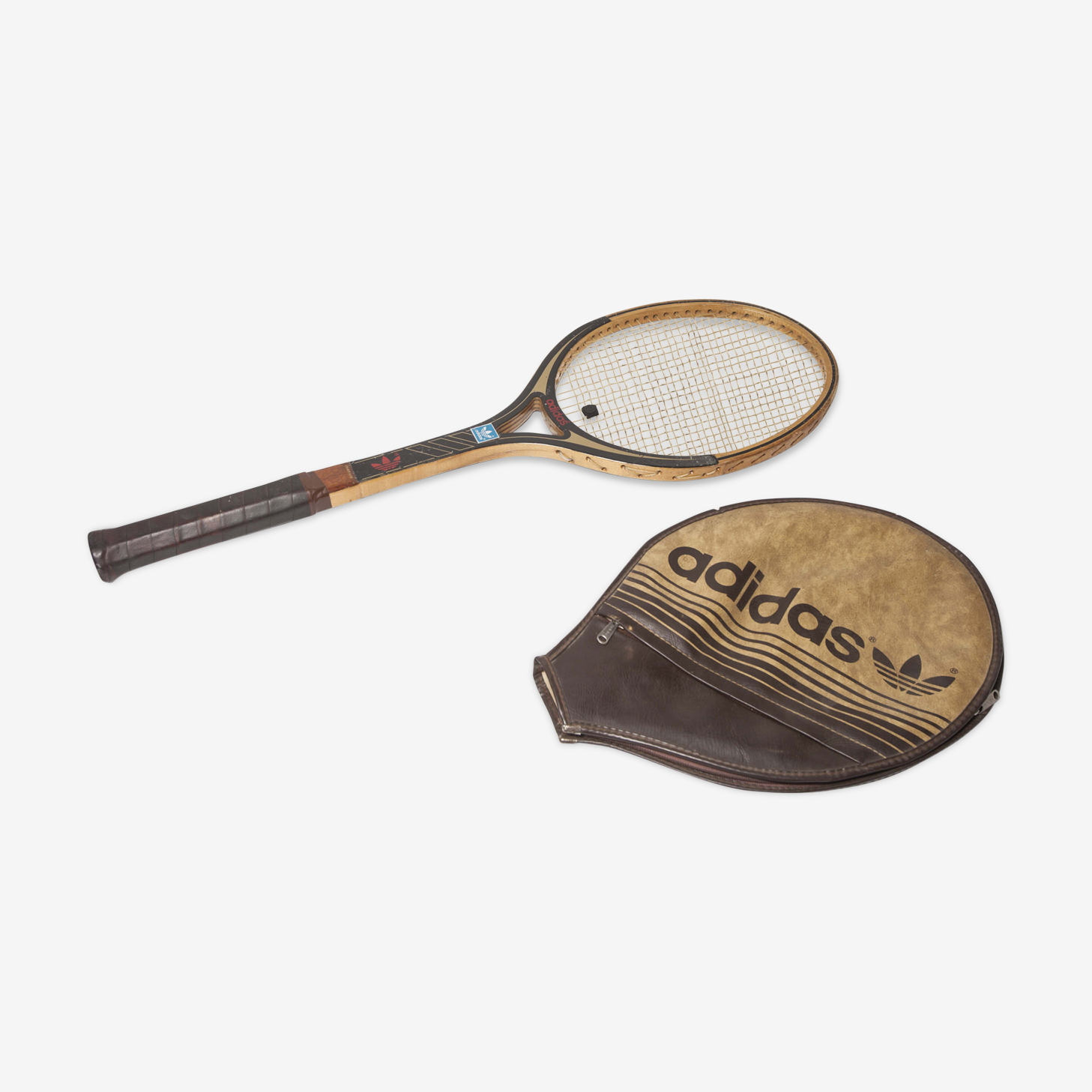 Raquette tennis Adidas, 70s, Graphite ADS 075
