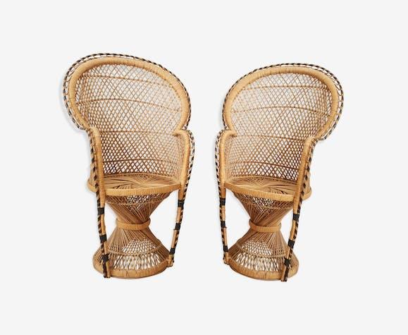 Pair of emmanuelle children's armchairs