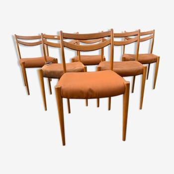 6 chairs 1960