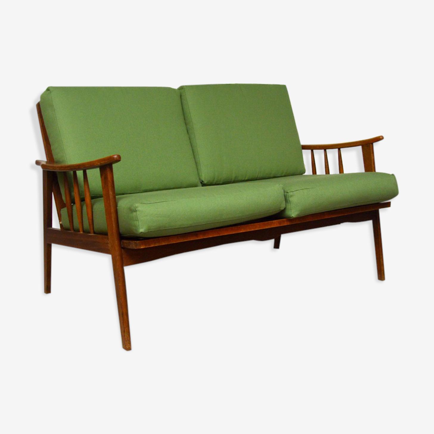 Sofa seat 2 places 60s vintage