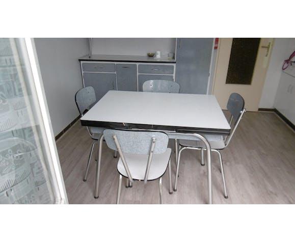 Table De Cuisine En Formica Avec 4 Chaises Selency