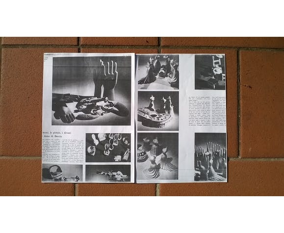 Main en céramique Gio Ponti 1950