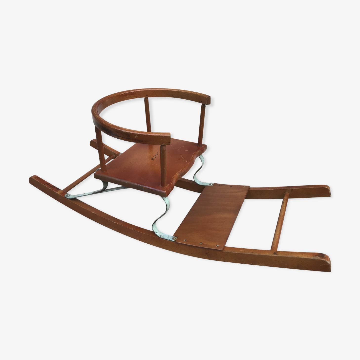 Chaise à bascule primus en bois