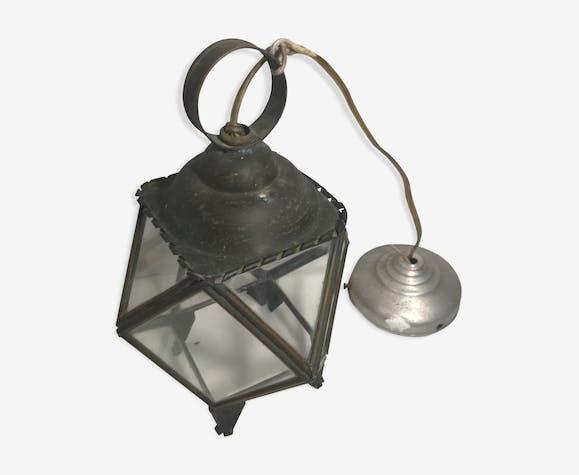 Suspension lanterne ancienne années 70