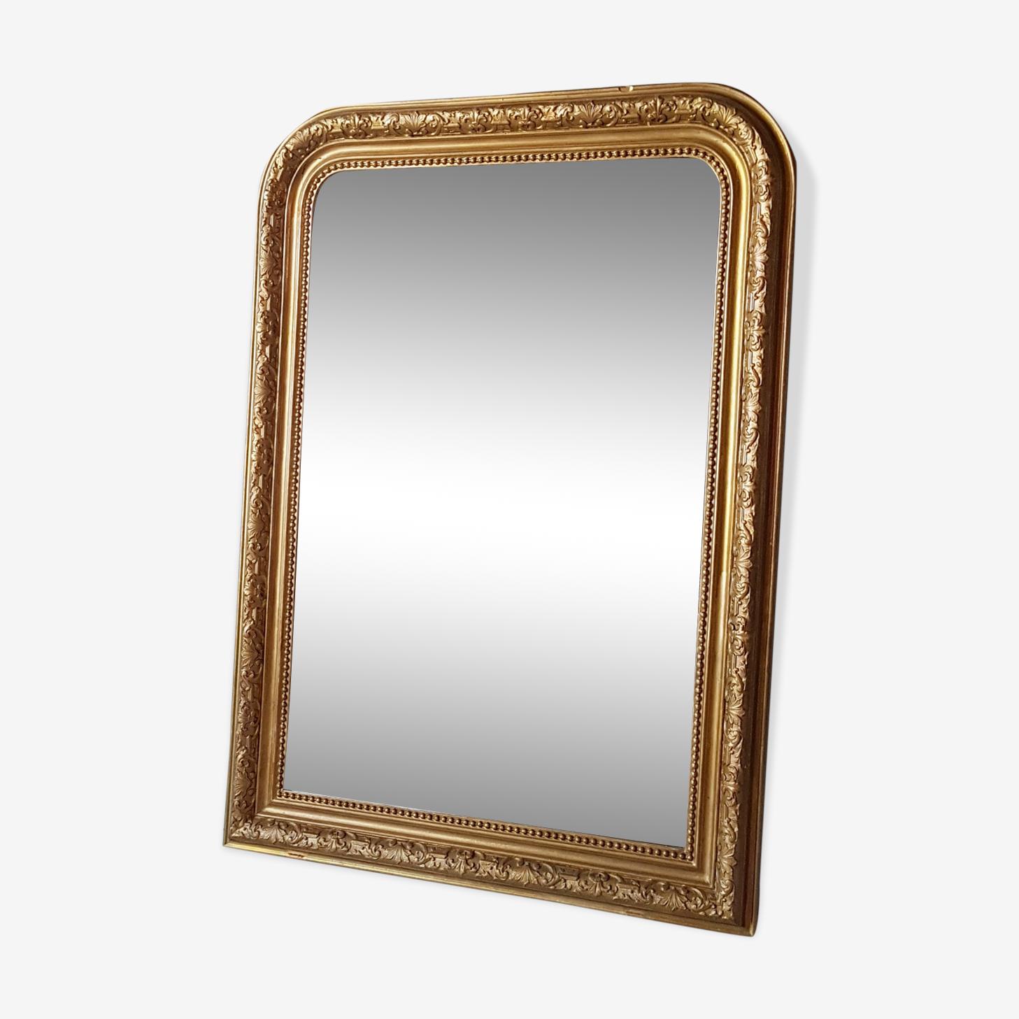 Miroir Louis Philippe ancien 109 X 79 cm