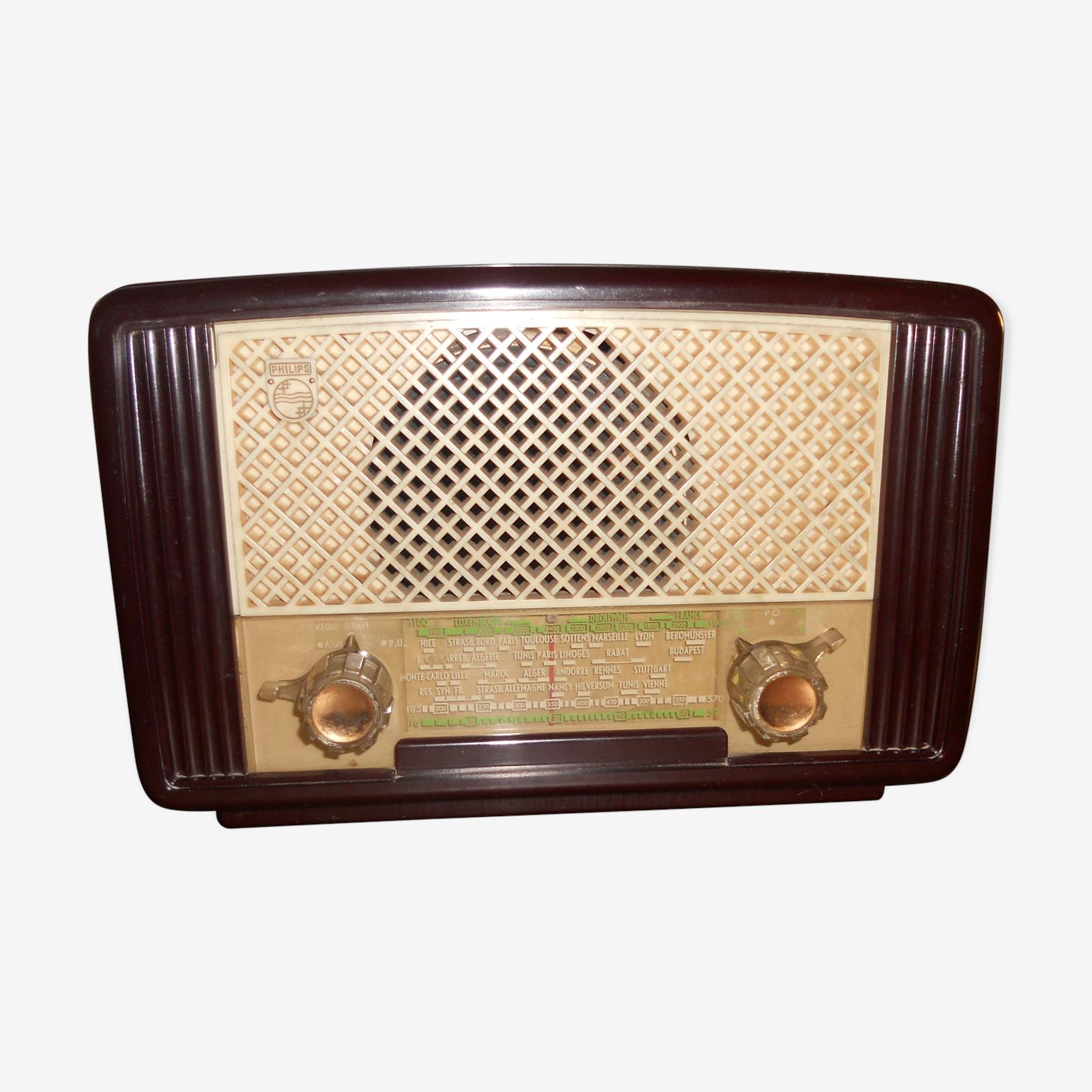 Poste radio Philips vintage