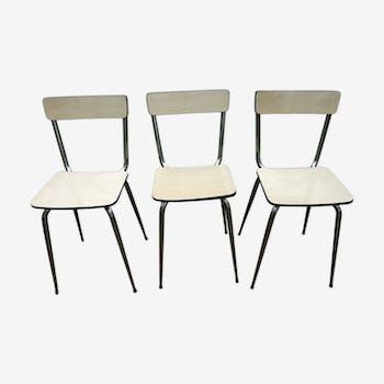 Lot de chaises en  formica