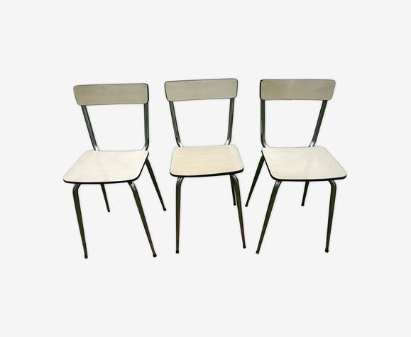 Lot of formica chairs