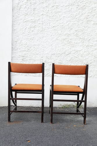 Pair of vintage chairs, 60s