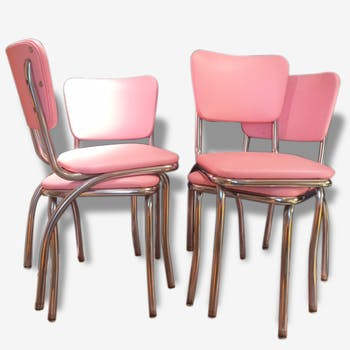 4 chairs rose USA