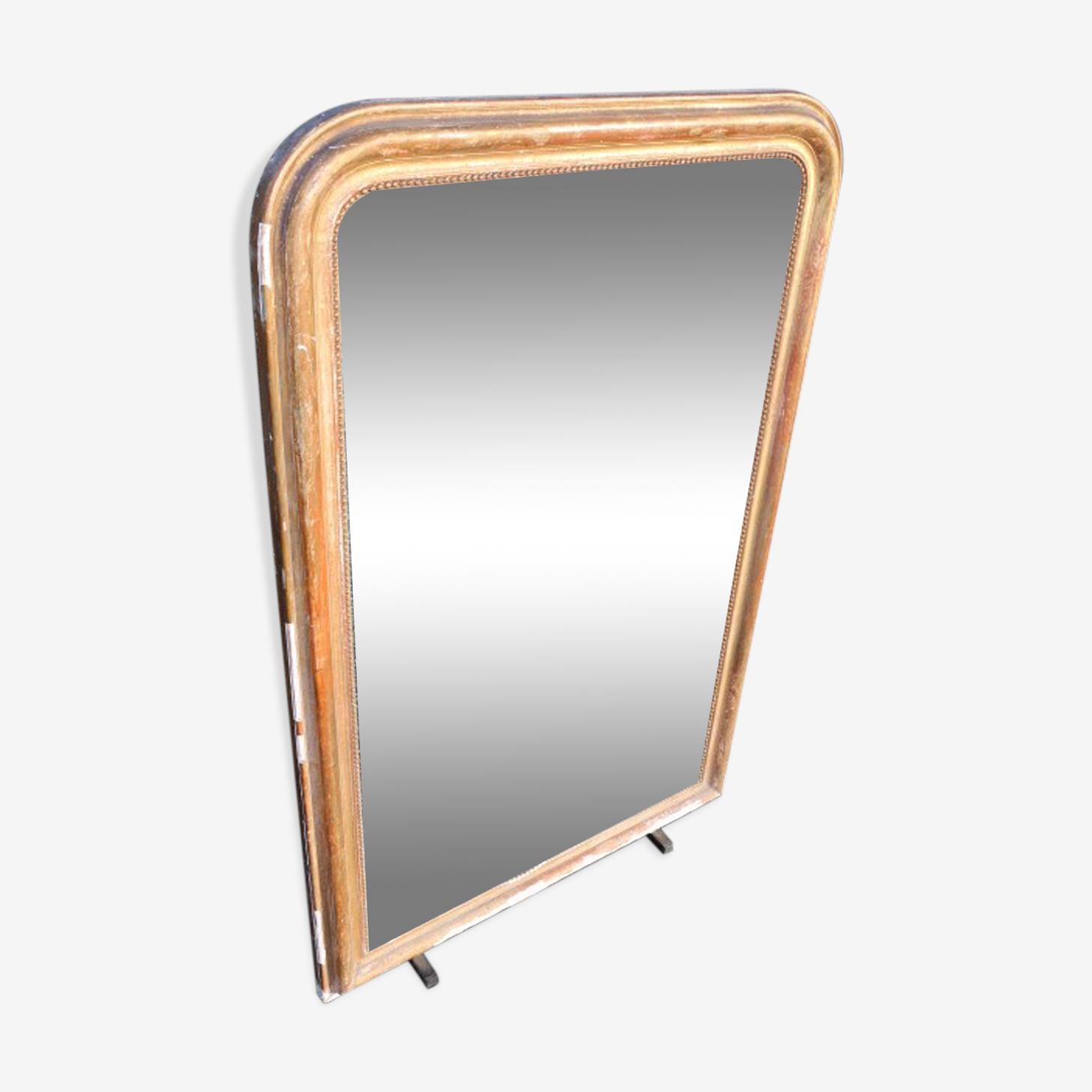 Miroir doré ancien 140x94cm