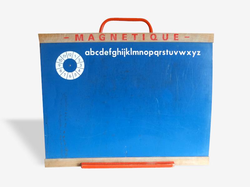 Tableau d'écolier magnétique