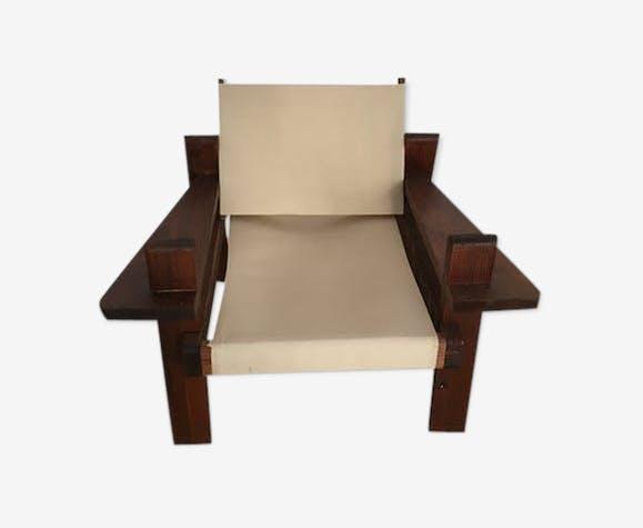 Spanish design oak Chair