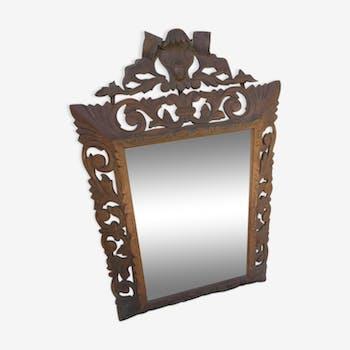 Miroir cheminé Napoléon III - 109x71cm