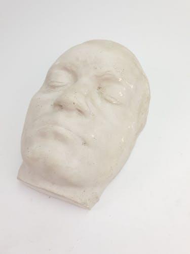 Masque français en plâtre Ludwig Von Beethoven 1950