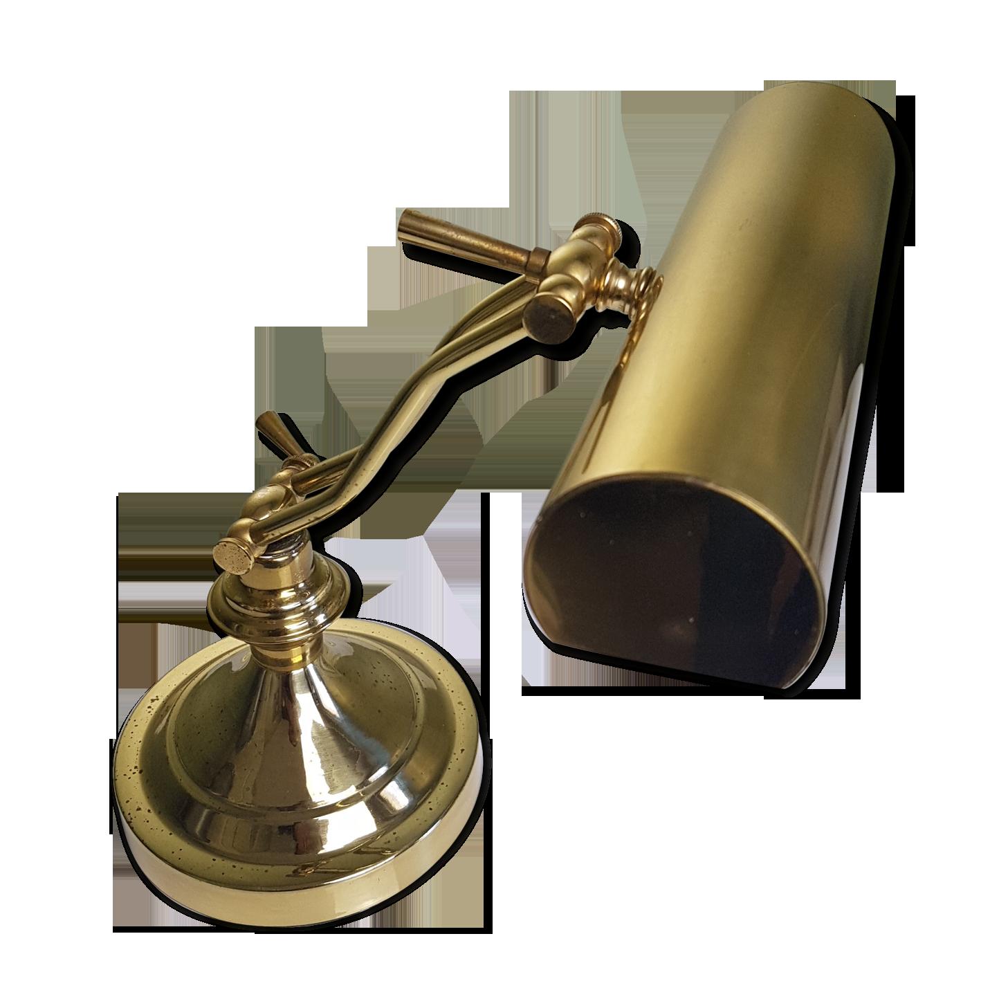 Lampe à poser lampe de bureau lampe pliable laiton eustrate