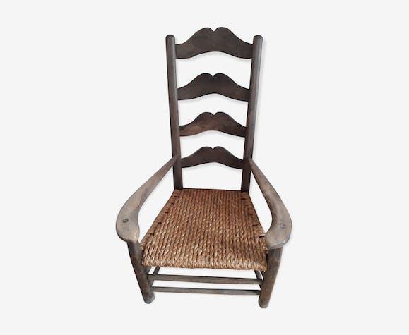 Provençal walnut armchair