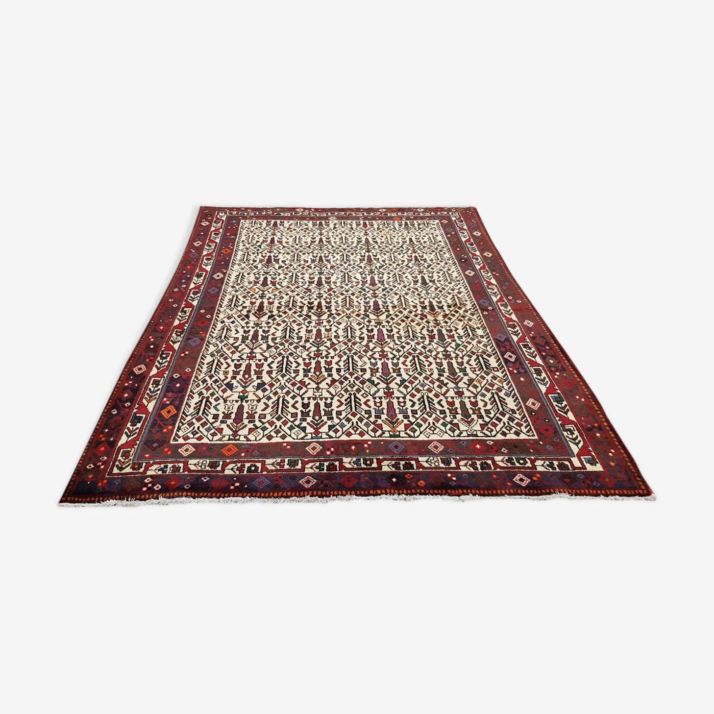 Tapis Afchar, Iran, vers 1970, 220x165cm