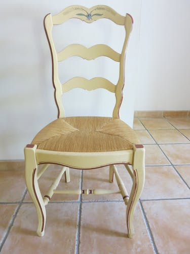 Lot of 4 Camargue chairs