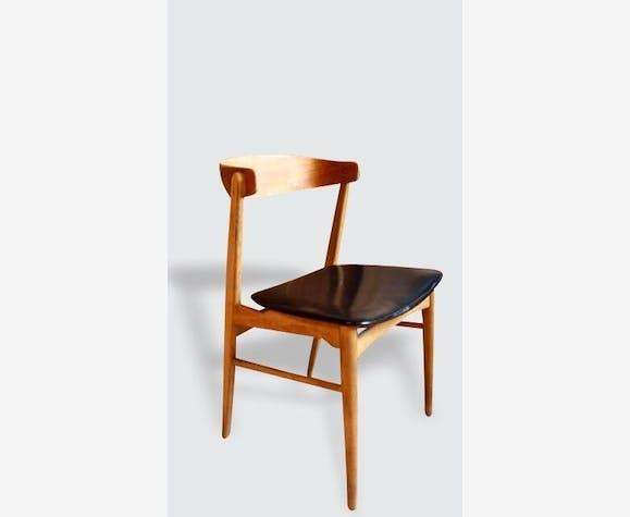 fauteuil chaise bureau scandinave 1960 - Fauteuil Bureau Scandinave