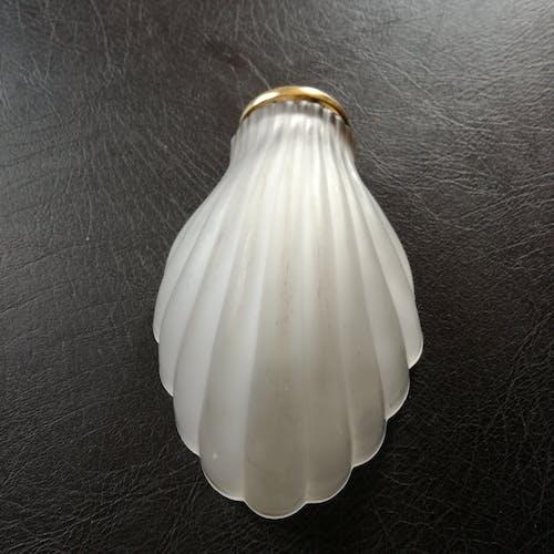 Applique coquillage en verre