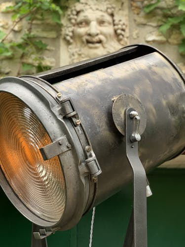 Projecteur industriel de cinéma 5 k A.E Cremer Paris 1950