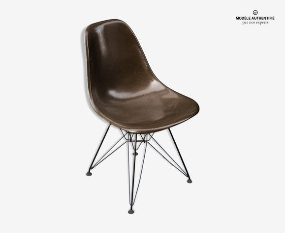 Chaise Eiffel Herman En Fibre De Verre Charles Ray Eames 1960 Original
