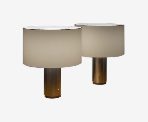 Pair of F6 lamps by Étienne Fermigier for Disderot, 60