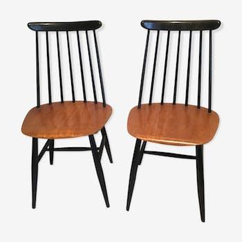 Pair of 'Fanett' chairs by Ilmari Tapiovaara
