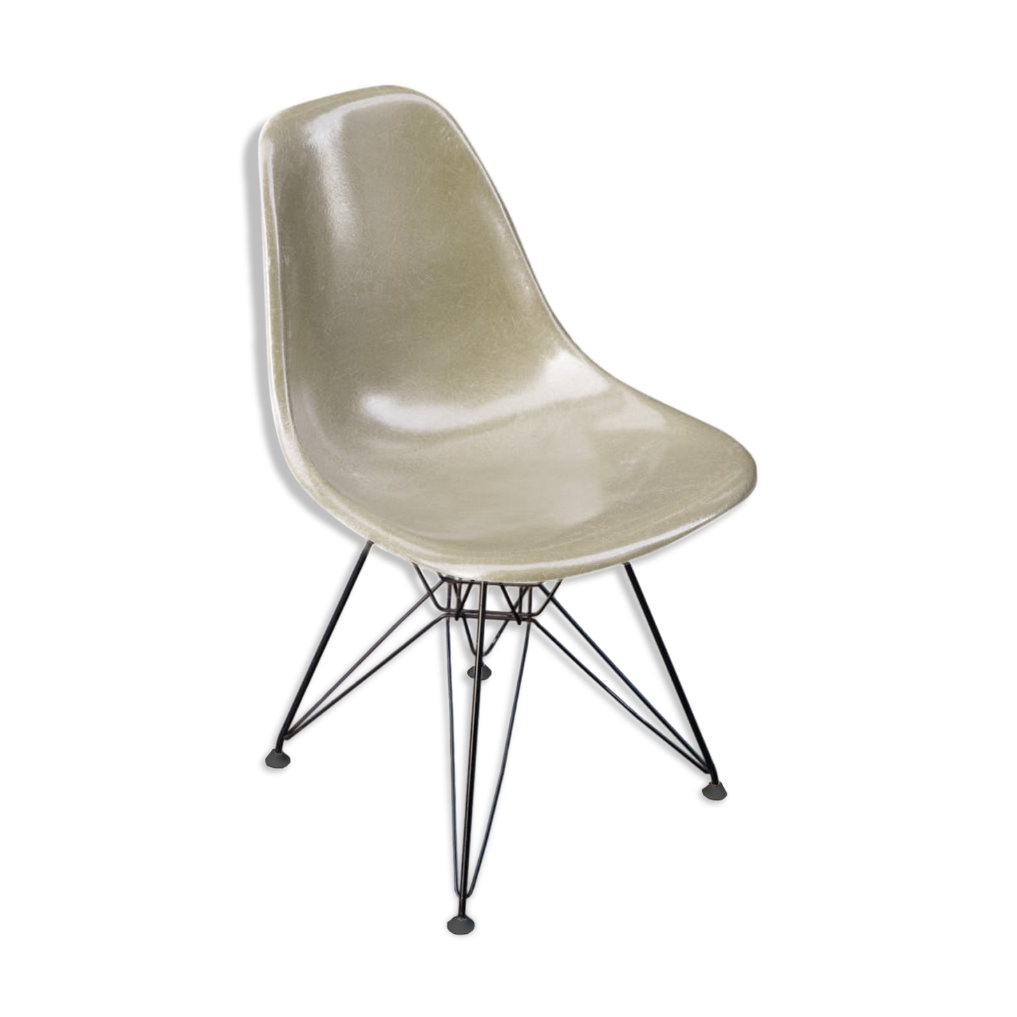 Finest Great Chaise Dsr Design Charles Et Ray Eames Dition Herman Miller Pied Eiffel With Fauteuil