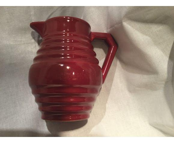 Basque red pitcher