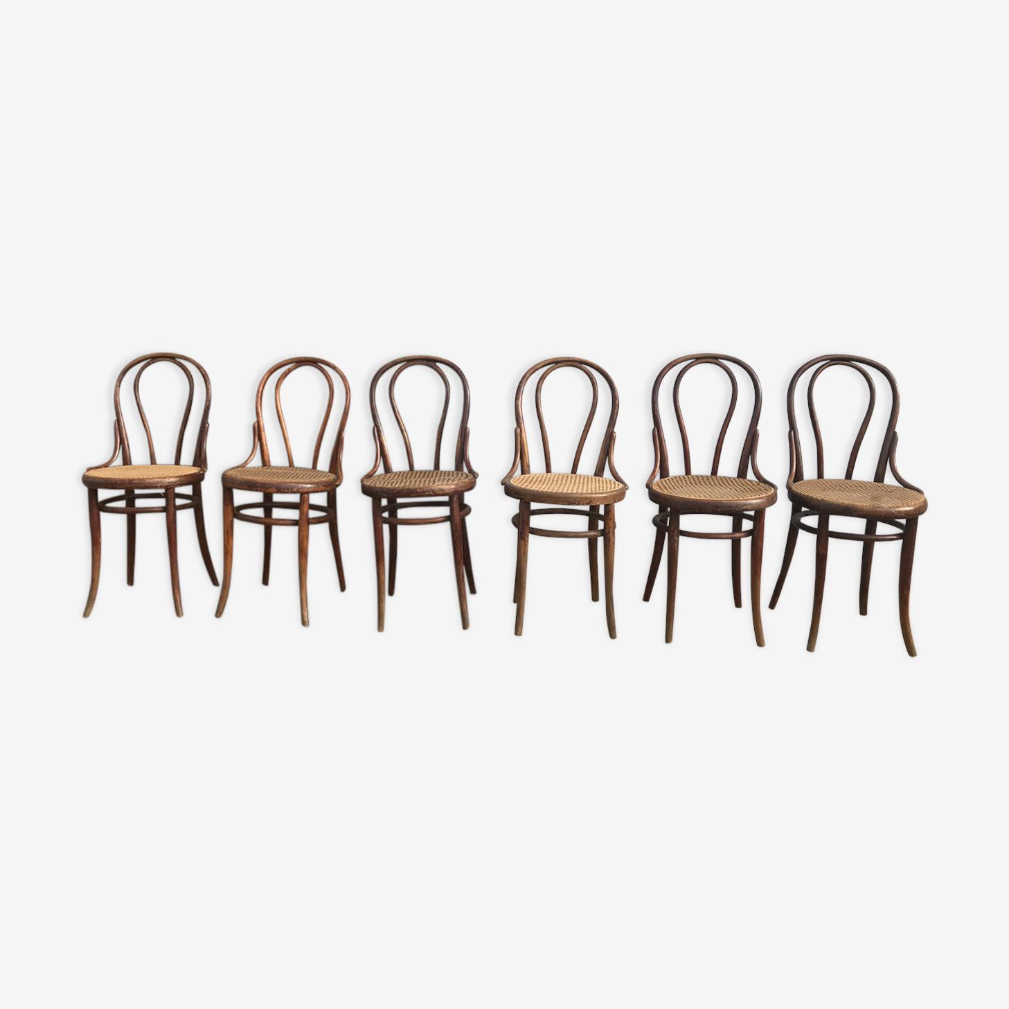 Suite de 6 chaises Thonet