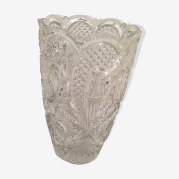 Vase en cristal de bohème