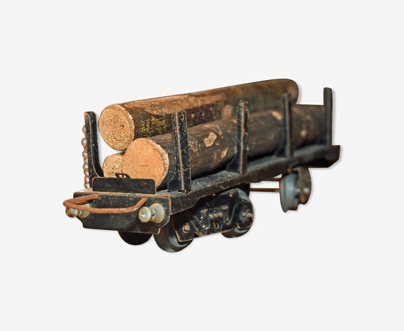 Wagon bois grumes jep