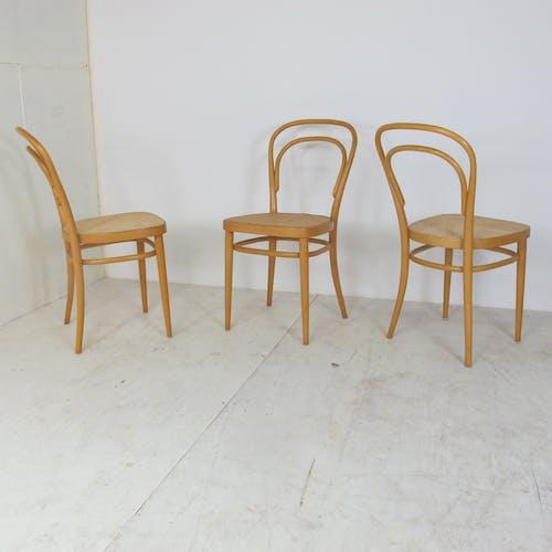 Chaises nr. 14 de Michael Thonet pour Thonet, 1980