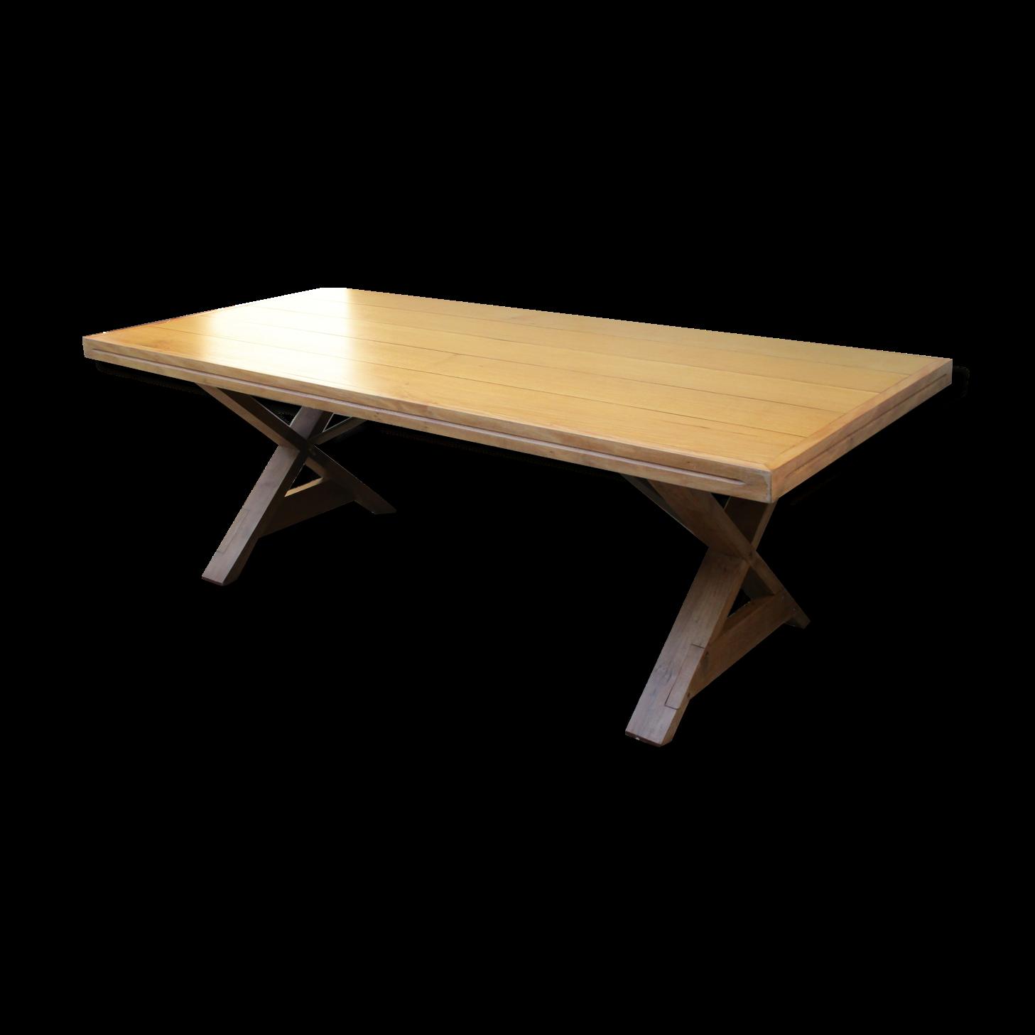 rare-table-pieds-en-x-et-pliable_original Incroyable De Table Basse En Verre Design Haut De Gamme Conception