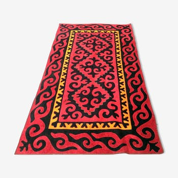 Tapis traditionnel Shirdak de Yourte Kirghiz 270x146 cm