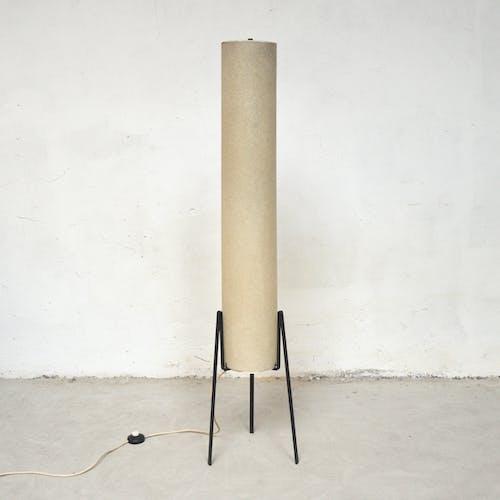 Metal tripod lamppost, 1960