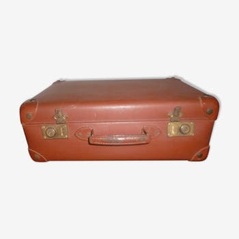 1940-1950 style cardboard suitcase