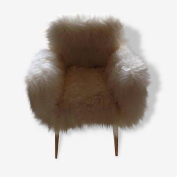 Chair retro rug