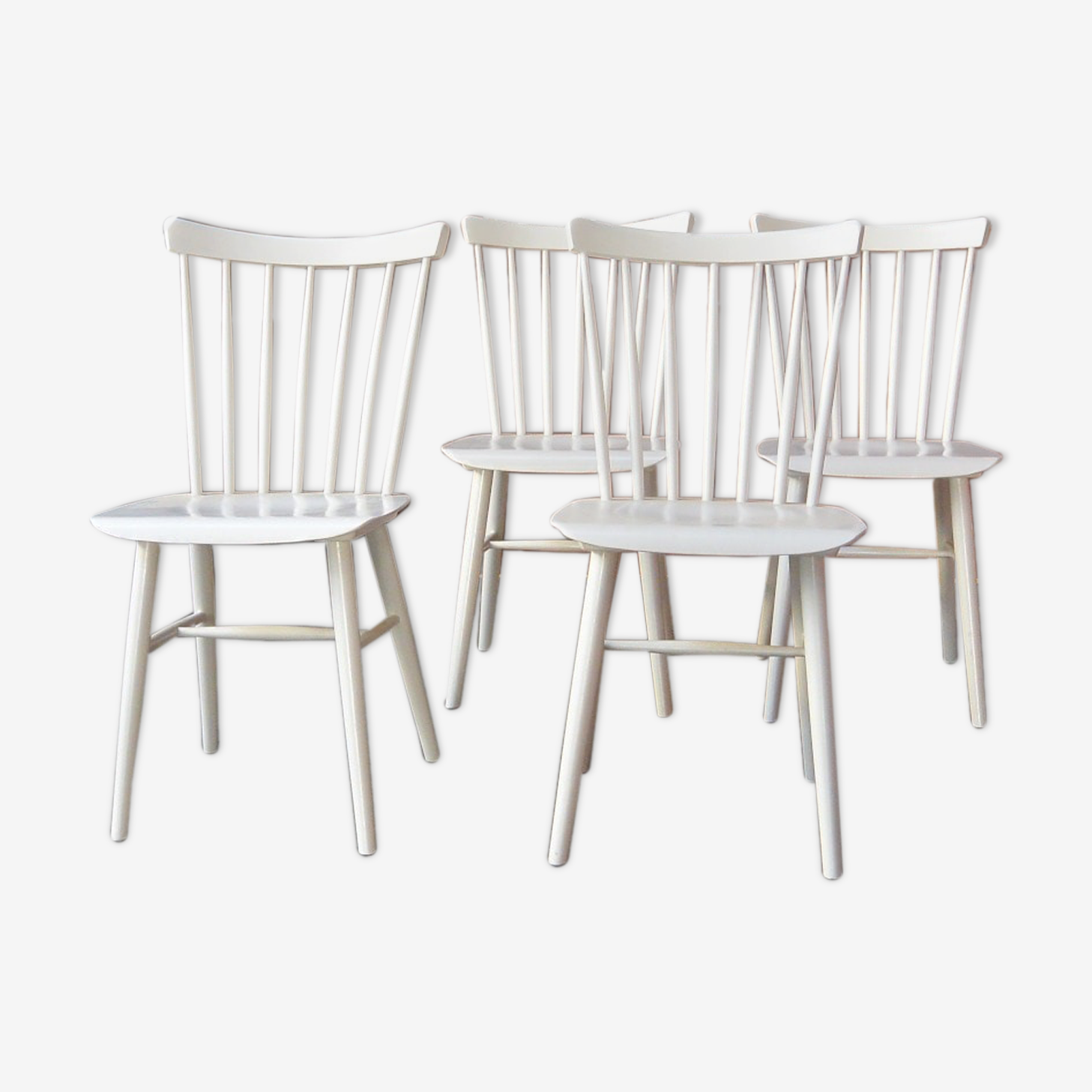 Set of 4 chairs in bars