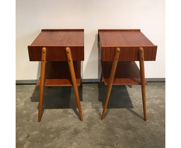 Pair of bedsides
