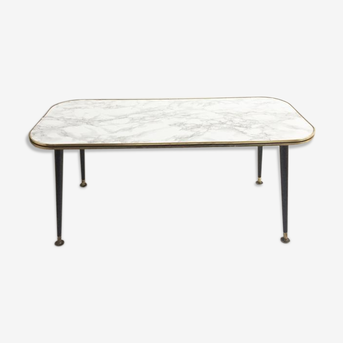 Table low vintage marble