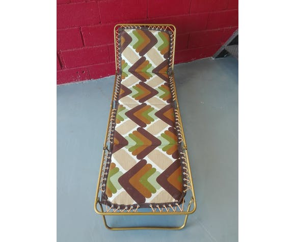 Lafuma vintage sunlounged chair 70