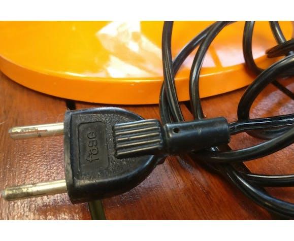 Fase orange 70s adjustable architect lamp