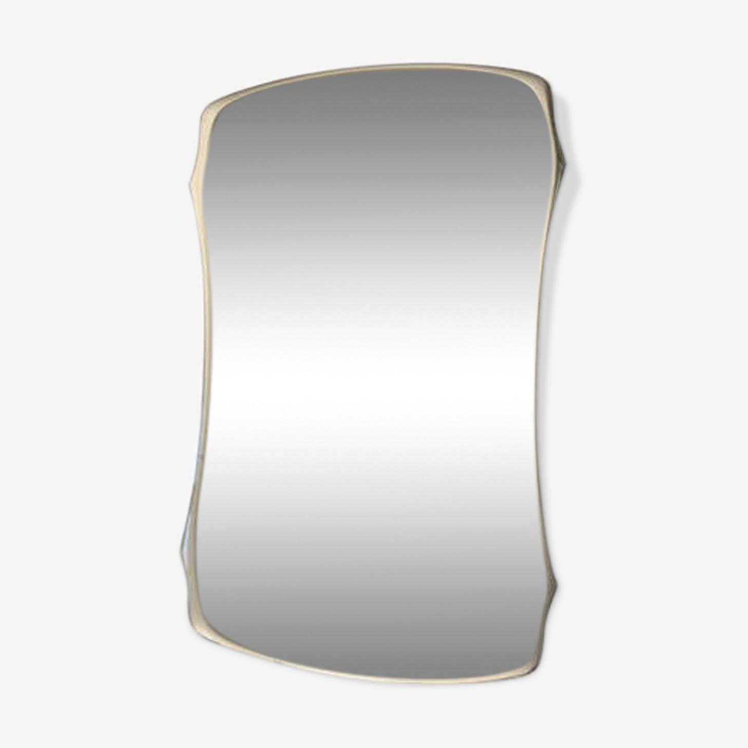 Mirror shape free vintage 69.5 x 45cm