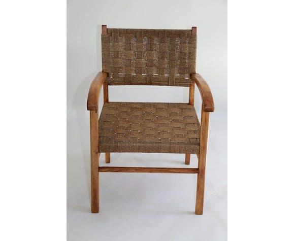 Braided Chair 70s