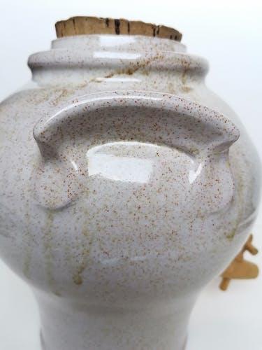 Vinaigrier estampillé poterie Normand
